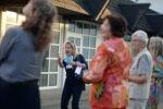 """Powerfrauen@Courtyard am 01.09.2021 Thema """"Wirkung von Wahrheit und Wahrnehmung?"""" Claudia Hupprich (Foto: Nadine Tannreuther) #Personal"""