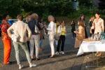 """Powerfrauen@Courtyard am 01.09.2021 Thema """"Wirkung von Wahrheit und Wahrnehmung?"""" Champagnerempfang (Foto: Nadine Tannreuther) #Personal"""