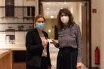 """Powerfrauen@Courtyard am 01.09.2021 Thema """"Wirkung von Wahrheit und Wahrnehmung?"""" Conny Gärtner und Lisa Hund (Foto: Nadine Tannreuther) #Personal"""
