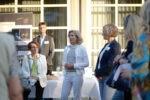 """Powerfrauen@Courtyard am 01.09.2021 Thema """"Wirkung von Wahrheit und Wahrnehmung?"""" Martina Kunze und Gruppe (Foto: Nadine Tannreuther) #Personal"""